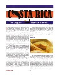 Jaguar Rescue Center Article - Page 1