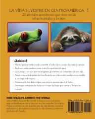 La vida silvestere en Centroamerica 1 - Back Cover