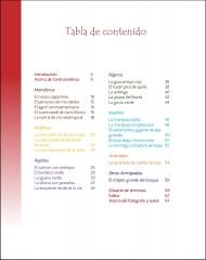 La vida silvestere en Centroamerica 1 - Tabla de contenido