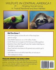 Wildlife In Central America 1 - Back Cover