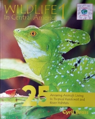 Wildlife In Central America 1 - Front Cover