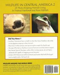 Wildlife In Central America 2 - Back Cover